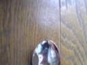 フローリング床、丸い傷の補修後