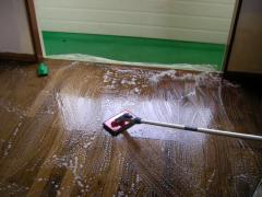 床洗浄のパット